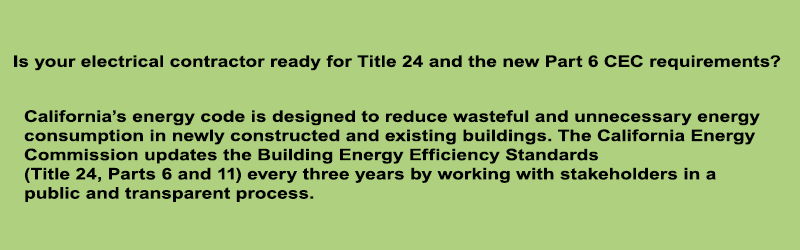 California Energy Commission Title 24