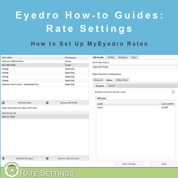 How to Set Up Your Rate Profile