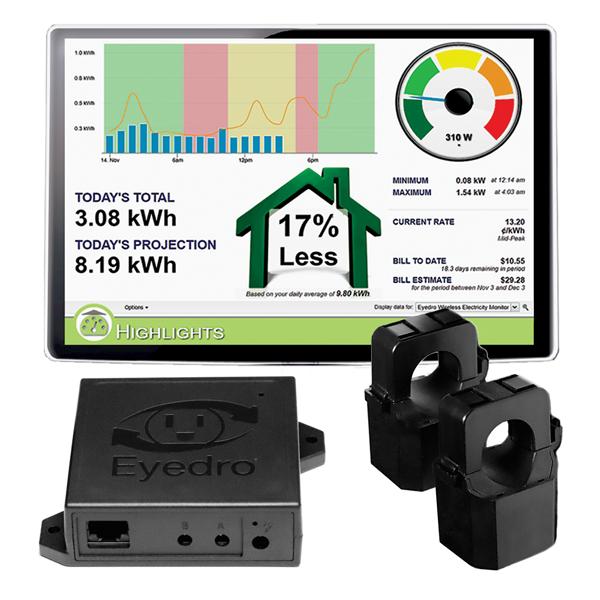 EHEM1-LV Eyedro Home electricity monitor