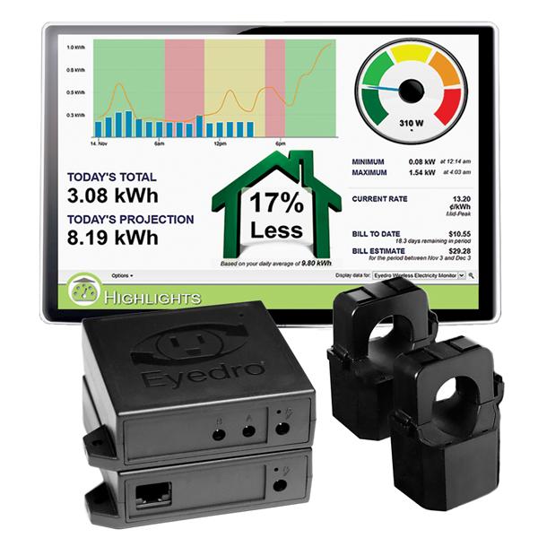 EHWEM1-LV Eyedro Home electricity monitor