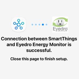Samsung SmartThings Eyedro Integration